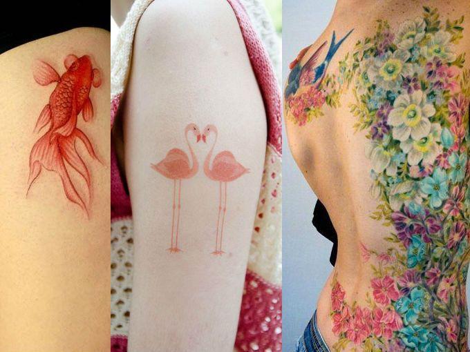 Tatuajes Sin Delineado Negro Tatuajes Originales Actitudfem