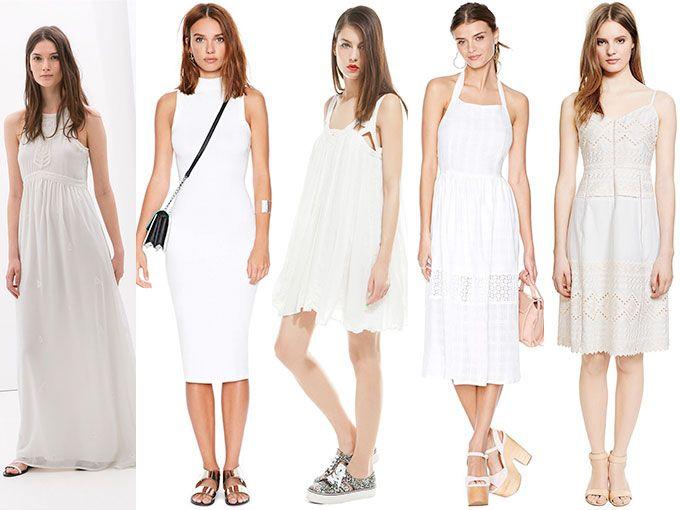 741bc27467 Elegimos los mejores vestidos blancos para verano