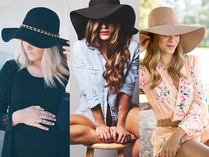 Cómo usar sombreros de ala ancha  FOTOS   ebe429a4873