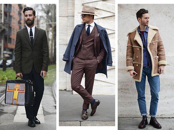 Street Style Masculino En Milán Fashion Week Otoño Invierno