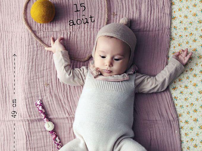 Fotos hermosas que registran el crecimiento de tu bebé