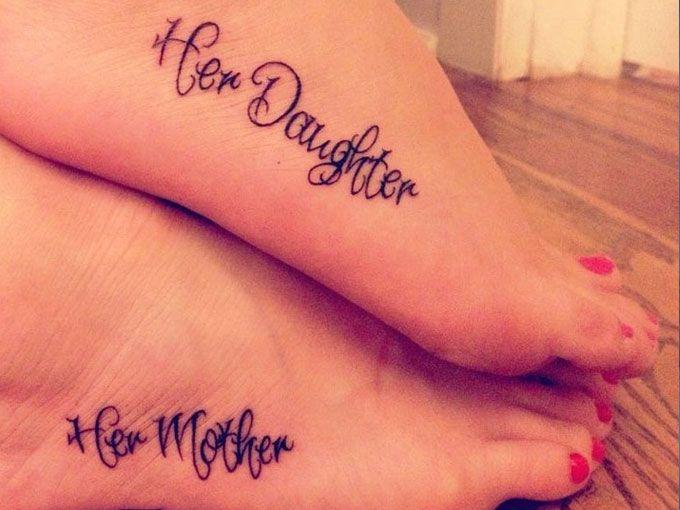 Tatuajes Para Madres E Hijas Fotos Actitudfem