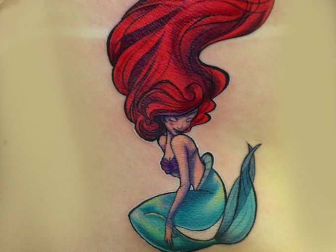 12 Tatuajes Increibles Para Las Amantes De La Sirenita Actitudfem