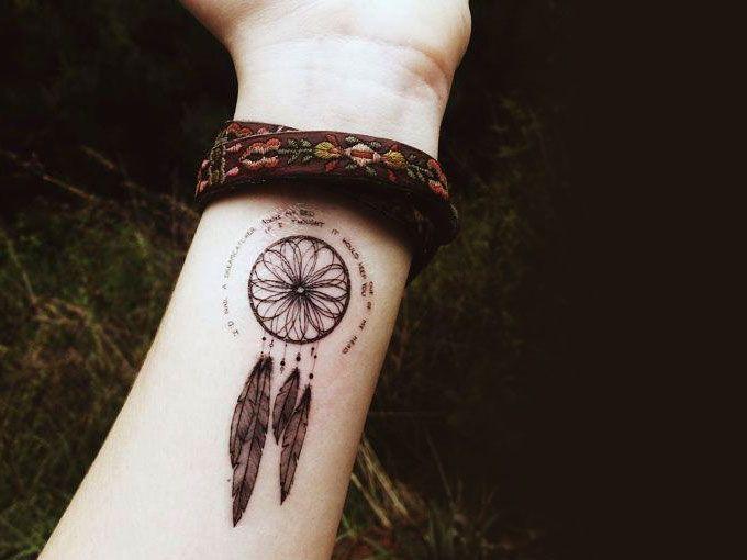 Tatuajes De Atrapasueños Fotos Actitudfem