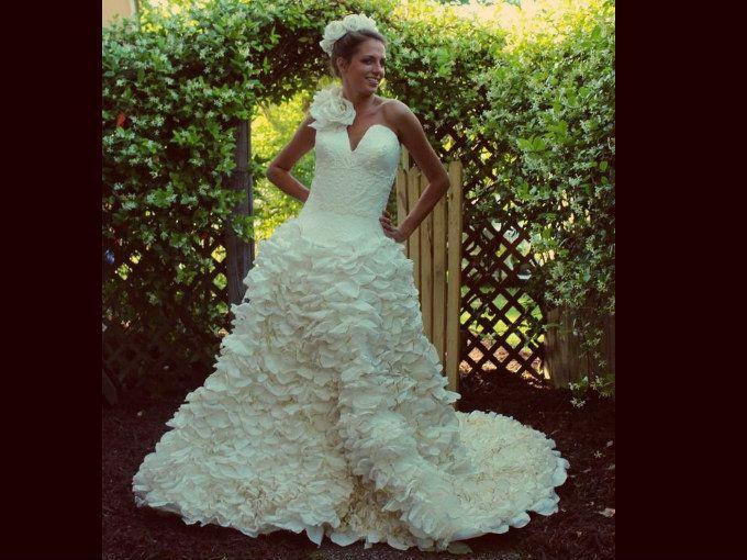 Vestidos de novia hechos