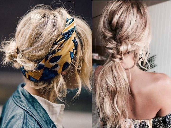 Imagenes de peinados faciles pero bonitos
