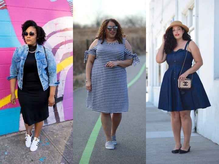 42732caa6 15 vestidos plus size perfectos para aguantar el calor de la primavera y el  verano