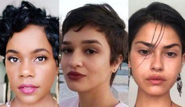 72c60162bc51 15 cortes de cabello realmente cortos perfectos para caras redonda