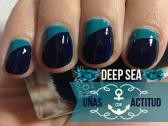 Tutorial: Manicure con color azul