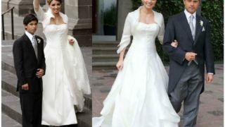 e15c3a58a Vestidos de novia famosas mexicanas – Vestidos de boda