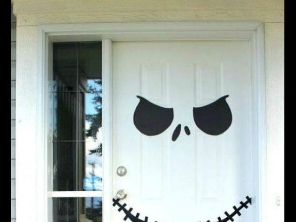 Decorar Puerta En Halloween Ideas Fáciles Actitudfem
