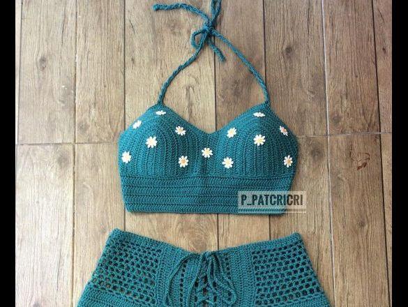 Trajes De Baño Tejidos En Crochet Fotos Actitudfem