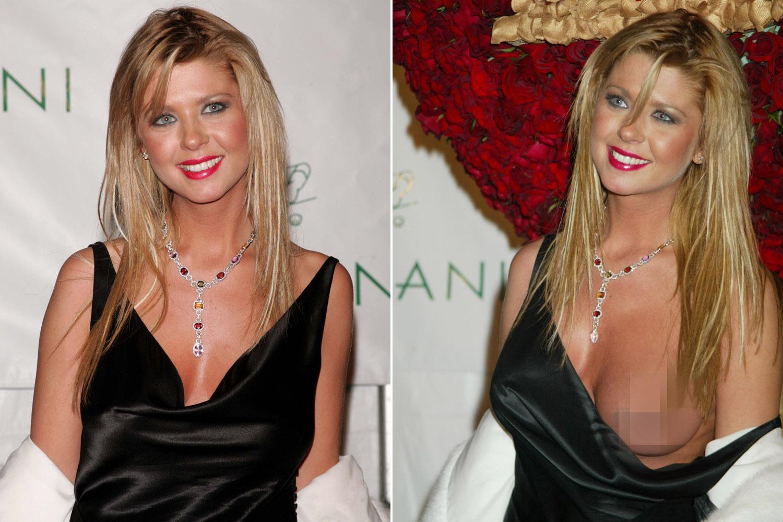Tara reid breast en la alfombra roja