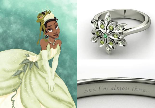 Anillos De Compromiso Inspirados En Las Princesas De Disney