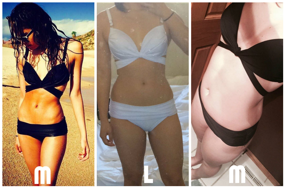 Fotos de mujeres usando trajes de ba o que puedes comprar for Modelos de baneras para bano