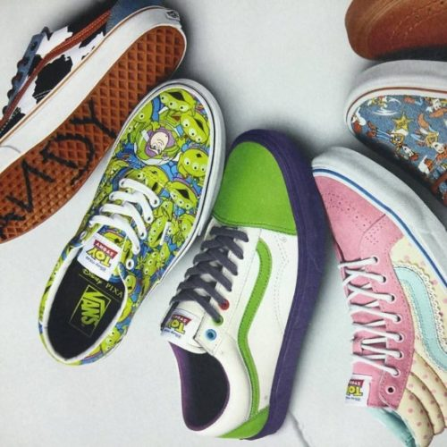 Vans Toy Story Woody Mujer