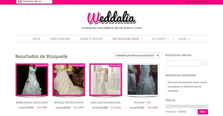 Vende tu vestido de novia mexico